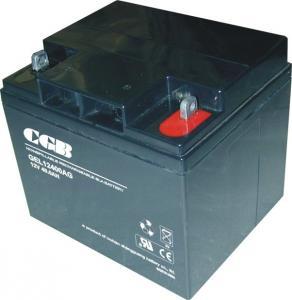 Quality CE / UL 12V 40AH GEL Lead Acid Battery Low Self Discharge Batteries wholesale