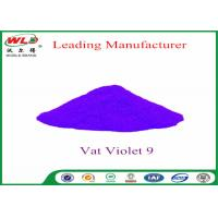 Quality Cotton Fabric Permanent Fabric Dye C I Vat Violet 9 Vat Dyes Heat Resistant wholesale