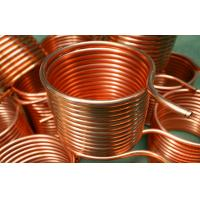 Cutting Air Conditioner Copper Pipe