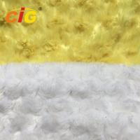 Quality Emboss 100% Polyester Faux Fur Fabric For Furniture Seat / Car Seat Cover wholesale