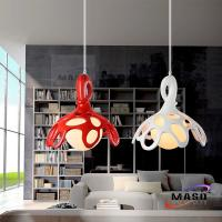 Modern Pure White and White Decorative Contracted Resin Chandelier