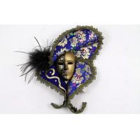 Quality Interior Decorating Masquerade Masks Lace With Porcelain 13 Inch for Gift wholesale