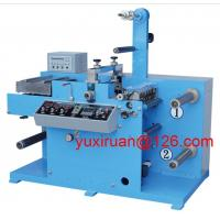 Cheap High Precision Sticker Label Die Cutting Machine With Slitter HBY-320A for sale