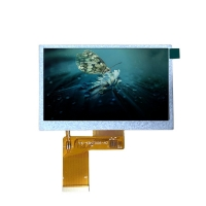 Quality 500cd/M2 24Bit RGB Interface 480X272 4.3 Inch Tft Lcd Screen wholesale