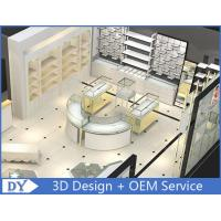 Quality Customized Large Space Jewelry Display Cases Curve Or Oblong Shape wholesale
