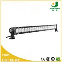Quality 39 inch single row slim led light bar 200w led working light bar for offroad suv truck wholesale