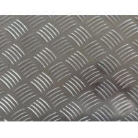 Quality Easy Processing Aluminum Tread Plate , Coil 5 Bar Chequered Embossed Aluminum Sheet Plate wholesale