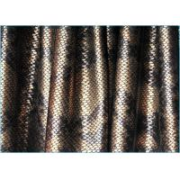 Quality Dance Costume Polyester Spandex Fabric / Faux Leather Upholstery Fabric for Bag wholesale
