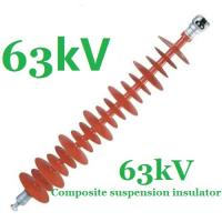 Buy cheap Anti - Pollution Small Volume Electrical Insulators 63kV IEC 61109 Standard product