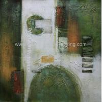 Modern Decoration Abstract Pattern Hand Painted Oil Painting On Canvas For Interior