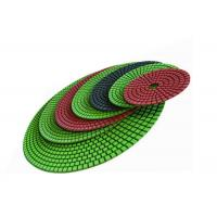 Quality Diamond 125mm Polishing Pad / 5 Inch Flexible Diamond Pads For Engineered Stone Surfaces wholesale