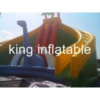 Quality Attractive Slide Jumper Bouncer Bouncy Children Inflatable Slide Beach Fun wholesale