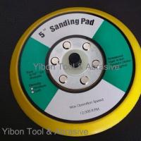 China 5inch Sanding Pad/Velcro Sanding Pad/Abrasive Pad with threads on sale
