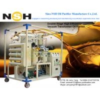 China Siemens Supplier Transformer Oil Purifying Machine, VF/VFD/VFD-R, 5 PPM water content, 0.1% gas content, on sale