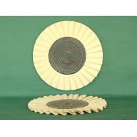 Quality Cotton Open Bias Buff  Airway buff cotton buff polishing wheel wholesale