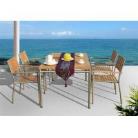 China Teak Wood Dining Table and Chair (D571 & S271) on sale