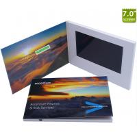 Quality Factory supply 7 inch customized video brochure/video greeting card with lcd screen for business wholesale