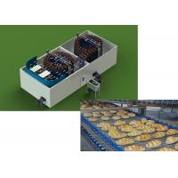 Quality Hamburger Production Line / Indusrtial Hamburger Making Machine wholesale