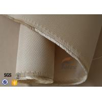 Quality 35oz High Silica Fabric 1.3mm Cross Twill Thermal Insulation Fibreglass Cloth wholesale