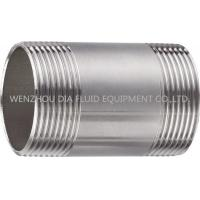 """Quality 1/8"""" - 4"""" 150lb Stainless Steel Pipe Fittings Barrel Nipple SS 304 / 316 Couplings wholesale"""