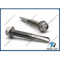 Quality 410 Stainless Steel Heavy Duty Self Drilling Sheet Metal Screws, Tek 5 Point wholesale