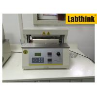 Quality Aluminium Foil Heat Seal Tester / Testing Equipment With Two Heat Sealing Jaws wholesale