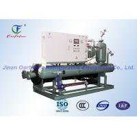 China Bitzer Water Cooled Condensing Units , Cool Room Refrigeration Units on sale