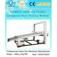 Quality Security Electric Corrugated Carton Box Making Machine , Paperboard Stacker Machine 1600mm wholesale