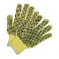 Quality Double Sides PVC Dotted Hand Protection Gloves Cotton Knit Work Gloves wholesale