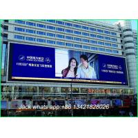 China Fhd High Brightness Rgb Led Screen Outdoor / Led Advertising Board With Die Casting Cabinet on sale