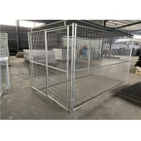 China Easily Assembled Dog Cage Gabion Wire Mesh High Tensile Strength 60 * 80mm on sale
