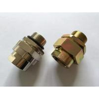 Quality BHJ Sereis Explosion Proof Cable Clamping , Carbon Steel Sealed Connector wholesale