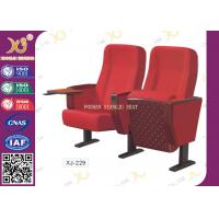 Quality Molded foam Auditorium Chairs /  auditorium theater seating Iron feet for audience XJ-229 wholesale