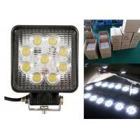 Quality 27W Square Vehicle LED Work Lights For Off Road 4.5 Inch With 9LED wholesale