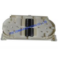 Quality 12 Core Fiber Optic Patch Panel Fusion Tray For Protection Sleeve Storage Fiber Fusion wholesale