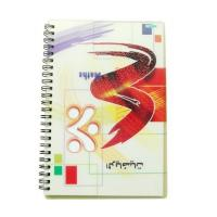 China PLASTIC LENTICULAR wholesale A4/A5/A6 lenticular flip cover 3d notebook with spiral wire lenticular cover notebook on sale