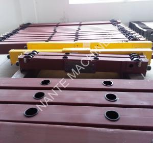 Quality Electric End Carriage Steel Crane Wheels For Overhead Crane 1ton ~ 50ton wholesale