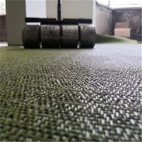 China 2.0 - 5.0mm Thick Woven Vinyl Flooring For Dining Room Anti - Friction on sale
