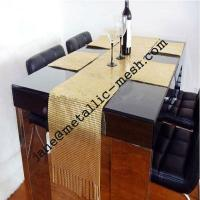 China 3-10mm flake metal sequin fabric for table cloth on sale