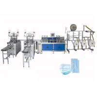 China Fast Delivery Automatic Surgical 3ply Non Woven Disposable Earloop Face Mask Making Machine on sale