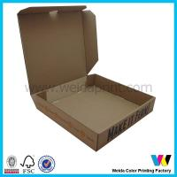 Quality Personalized Brown 80gsm - 250gsm Kraft Paper Pizza Takeaway Food Packaging Box wholesale