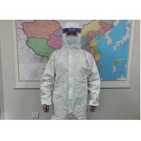 Quality Chemical Resistant Medical Scrub Suits Safety Protective Clothing Microporous Type wholesale