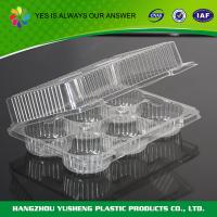 Quality Rice Disposable Plastic Food Containers  Individual Cupcake Box With Inserts wholesale
