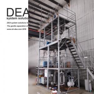 China OEM Fractional Distillation Lab Equipment , Industrial Molecular Distillation Plant on sale
