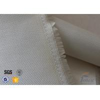 Cheap 0.7mm 600 G / M2 Fiberglass High Silica Cloth Fire Blanket Satin 8HS 1.2 X 1.8m for sale