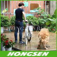 Quality Retractable & Rotatable Dog Bicycle Leash Bike Lead Attachment Removable Springy wholesale