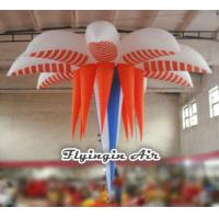 Quality 3m Hanging Inflatable Flower for Wedding and Exhibition Decoration wholesale