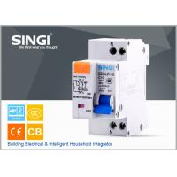 Quality Single phase Electric mini Residual Current Circuit Breaker for industrial , building wholesale