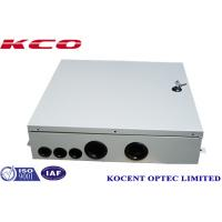 Quality Indoor FTTH FTTB Fiber Optic Terminal Box 4 Cable Ports Steel Tape Material KCO-ODB-48A wholesale
