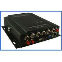 Quality MPEG-4 GPS vehicle DVR 4 channel H.264 Digital Video Recorder  HDD storage support wholesale